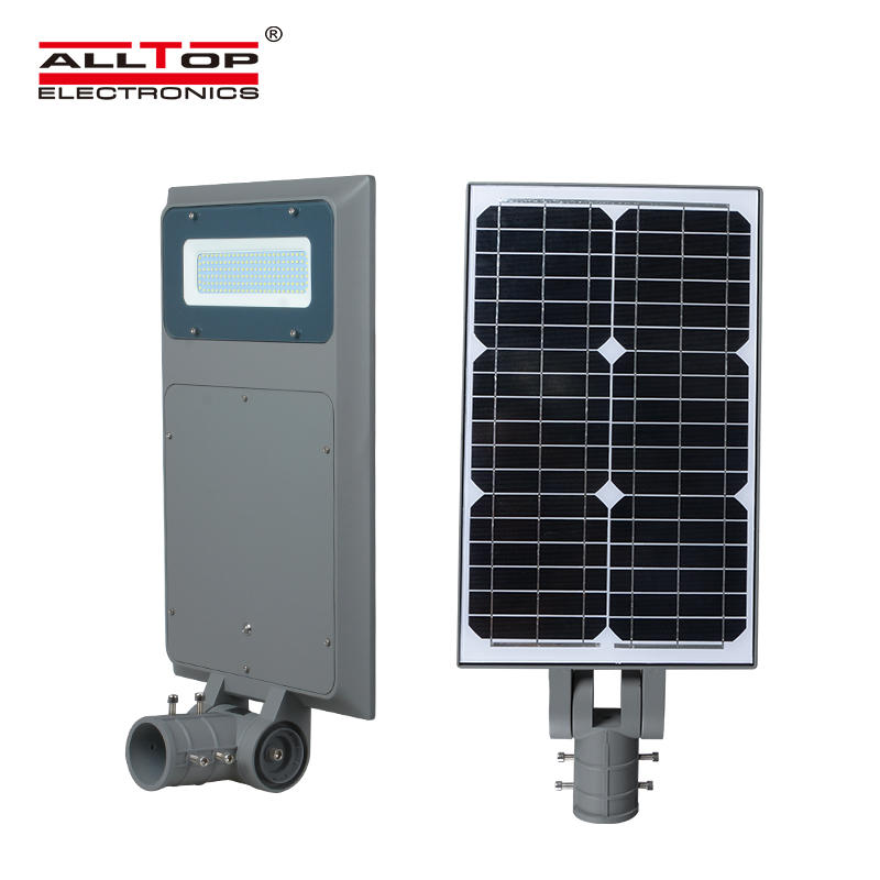ALLTOP Top quality outdoor ip65 waterproof all in one smd solar led street light 40w