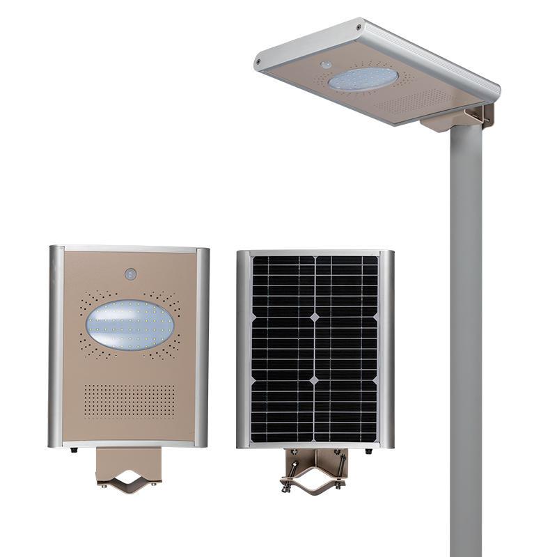 8w ip65 waterproof outdoor garden all in one solar led decorative street light