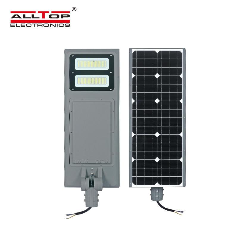 ALLTOP High lumen 100watt waterproof ip65 outdoor smd integrated all in one solar led street light