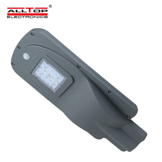 ALLTOP High quality 15watt ip65 outdoor waterproof led solar street lamp price