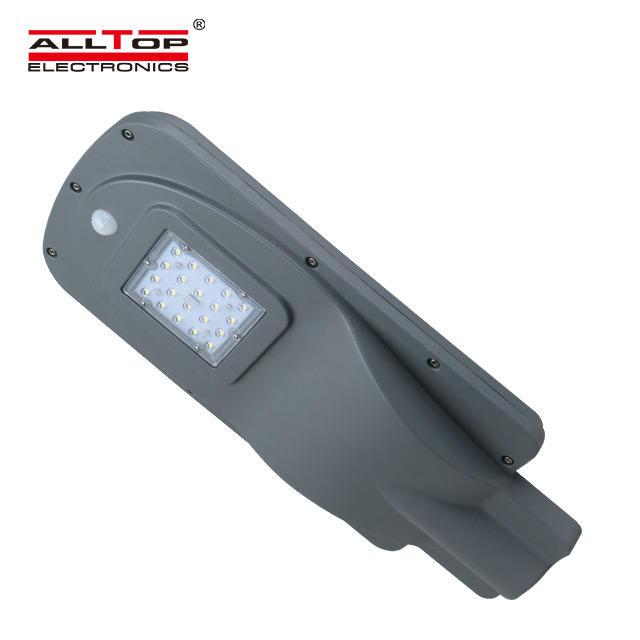 ALLTOP High quality 15watt ip65 outdoor waterproof led solar street lamp price