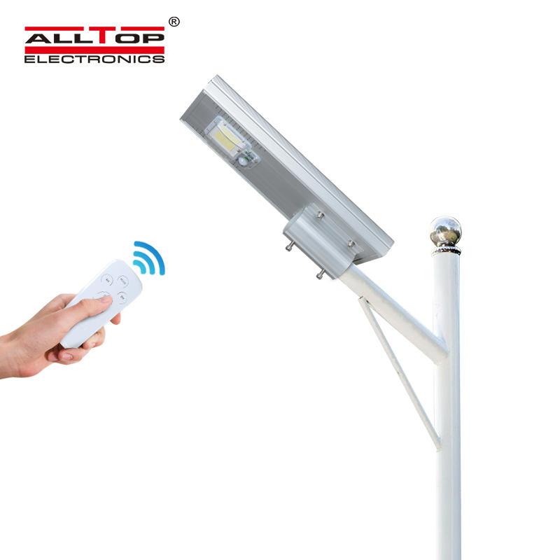 ALLTOP Outdoor IP65 photocell sensor aluminum 60w 120w 180w all in one solar led street light