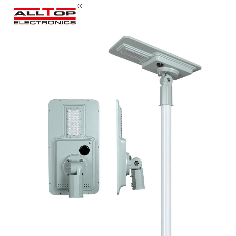 ALLTOP High quality outdoor lighting waterproof ip65 smd 40w 60w 120w 180w integrated all in one led solar street light