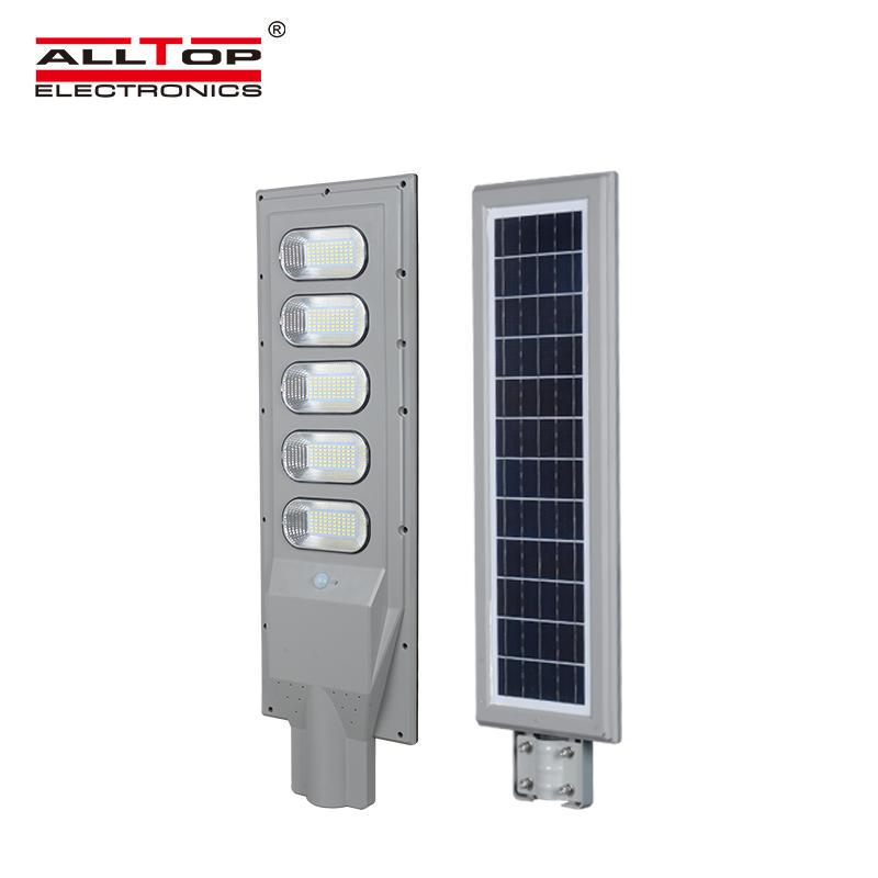 ALLTOP IP65 Waterproof motion sensor IP65 integrated 30w 60w 90w 120w 150 all in one solar led street light