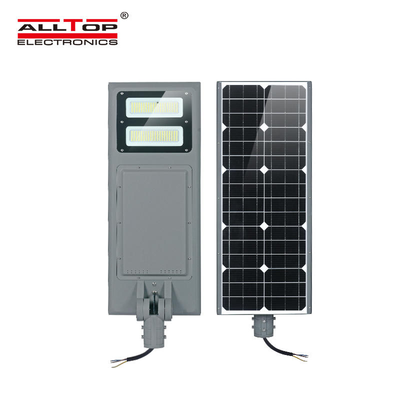 ALLTOP All in one Integrated 100watt ip65 outdoor waterproof smd solar led street light price