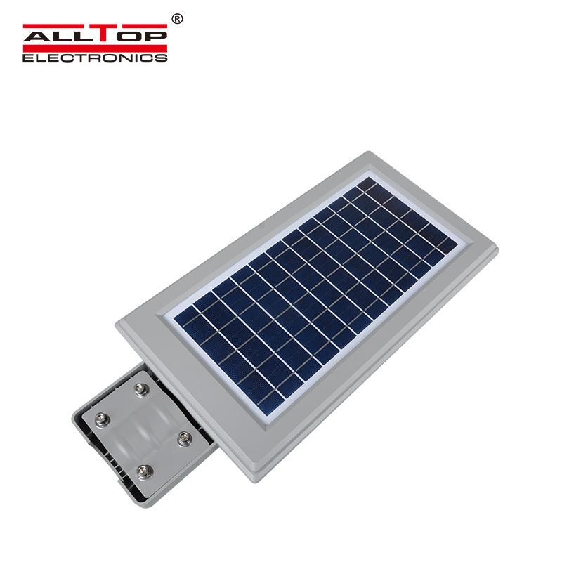 ALLTOP High lumen waterproof IP65 30w 60w 90w 120w 150w all in one led solar street lights price