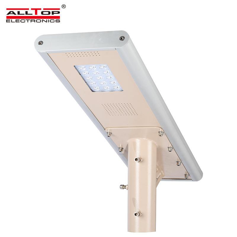 High lumen waterproof ip65 10w 20w 30w 40w 50w 60w all in one led solar street lights price
