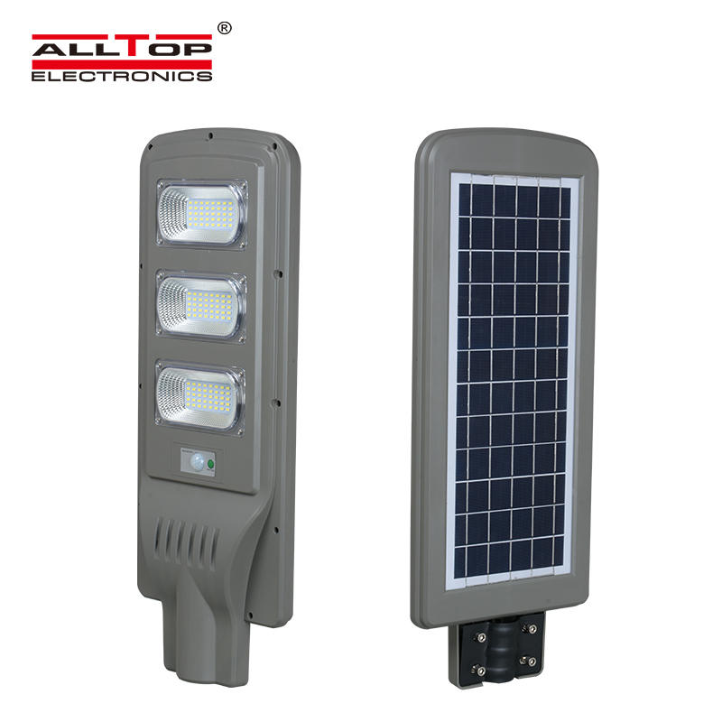 China direct sales 9000 lumens ip65 30w 60w 90w all in one solar led street light