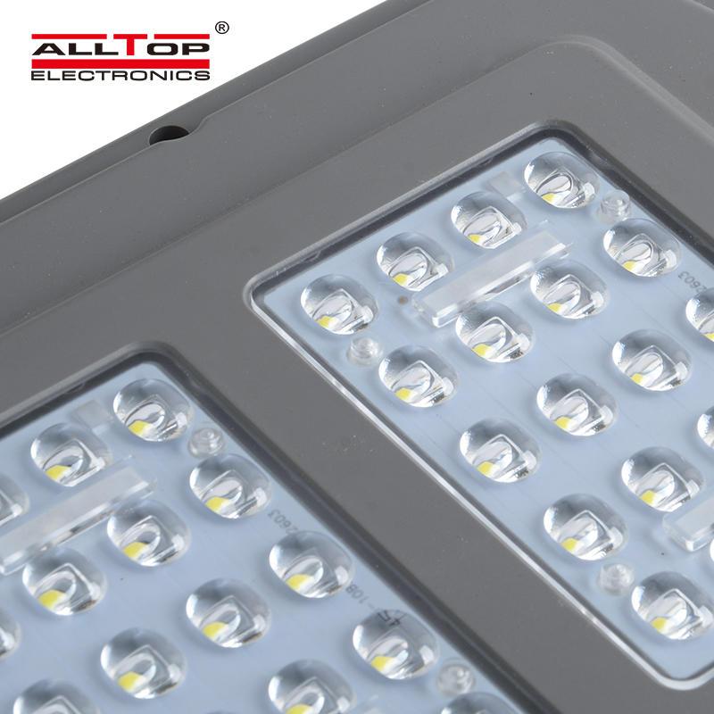 ALLTOP High efficiency smd 60w ip67 outdoor waterproof adjustable led solar street light price