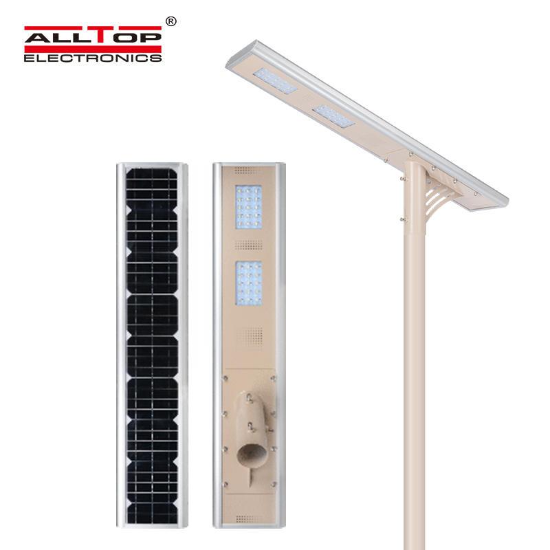 High lumen die cast aluminum pir solar 30w led street light price list