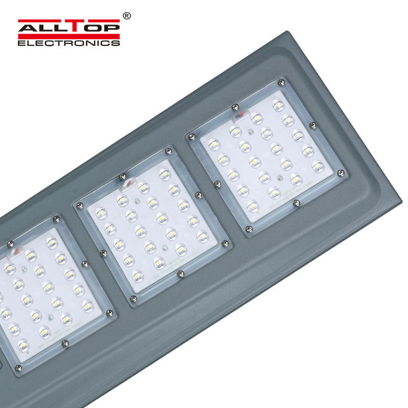 ALLTOP High quality Cool White IP65 Outdoor Waterproof Aluminum 20W 40W 60W Integrated All In One LED Street Light price