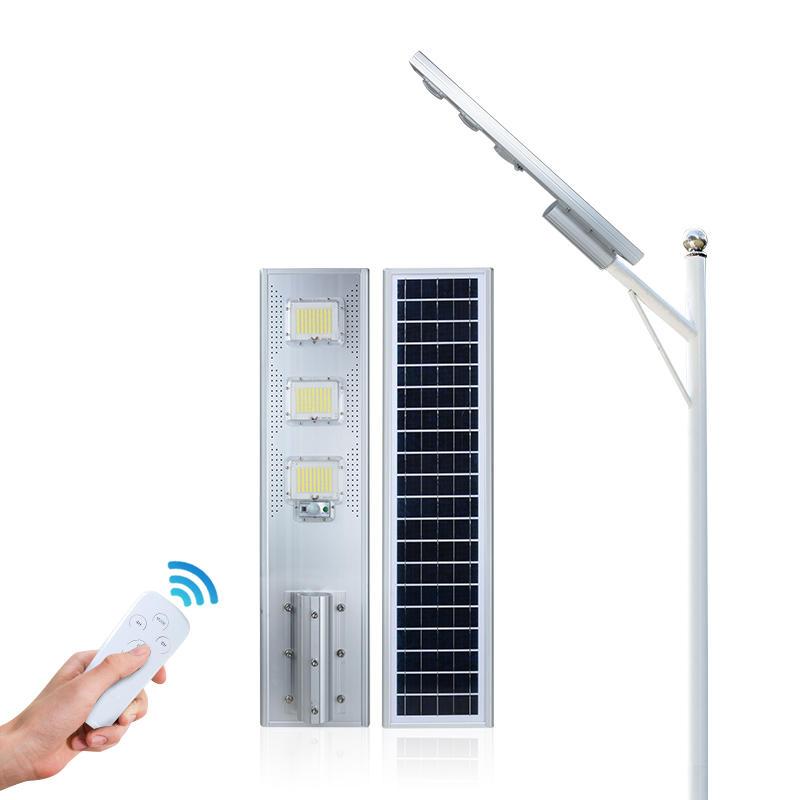 ALLTOP Zhongshan factory waterproof IP65 battery 60w 120w 180w all in one solar street light price list