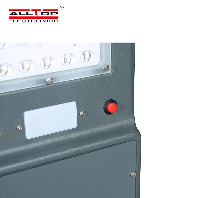 ALLTOP High lumen energy saving waterproof ip65 outdoor 20w 40w 60w integration all in one led solar street lamp