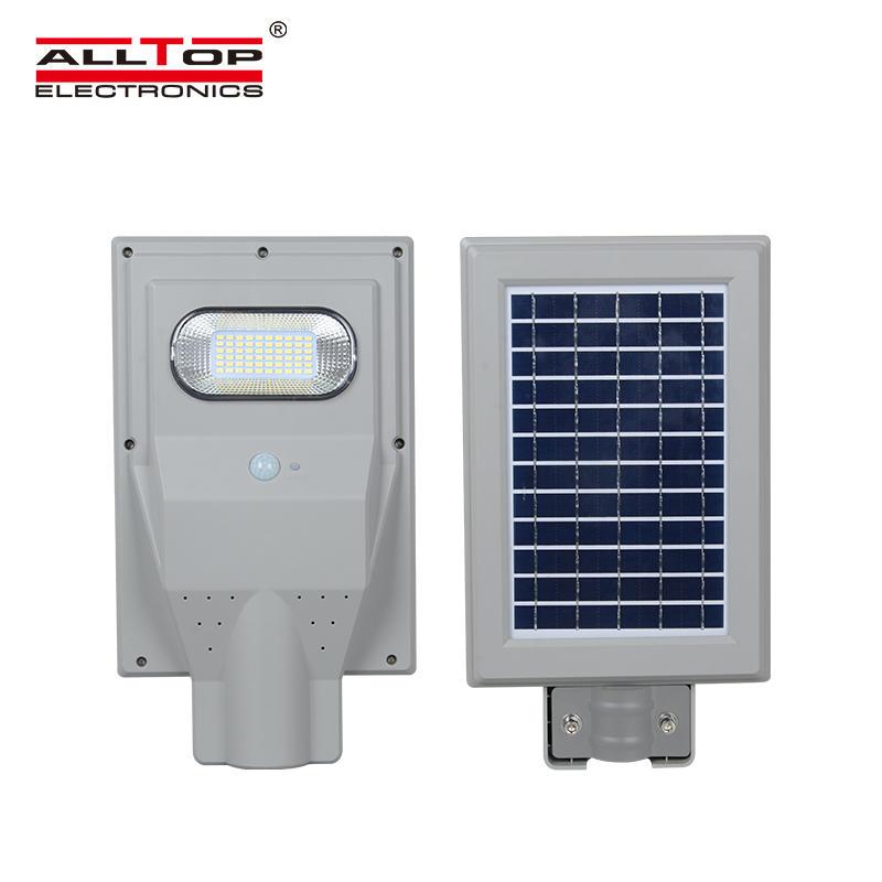 ALLTOP High power 30w 60w 90w 120w 150w ip66 waterproof outdoor all in one solar led street light