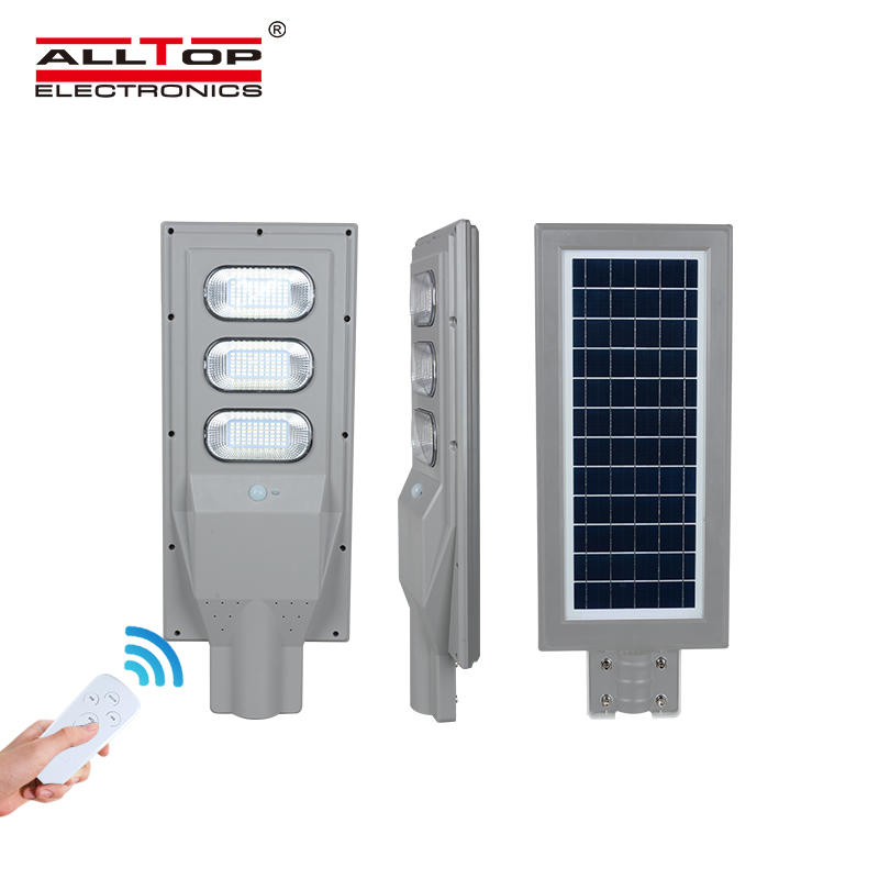 ALLTOP New products smd outdoor waterproof ip65 30w 60w 90w 120w 150w integrated all in one solar street led lights