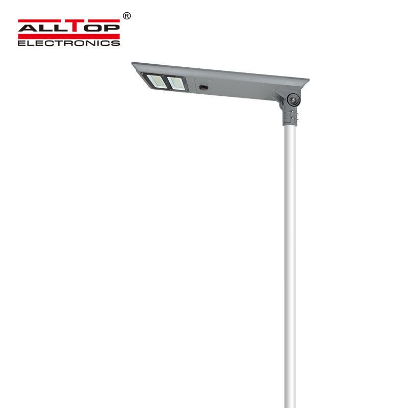 ALLTOP Zhongshan high quality ip65 waterproof 60watt 100watt all in one solar led street light