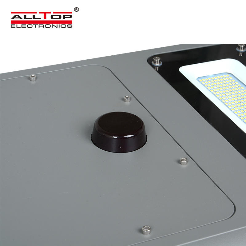 ALLTOP New product high lumen bridgelux IP66 waterproof outdoor 40w 60w 100w all in one solar led street light