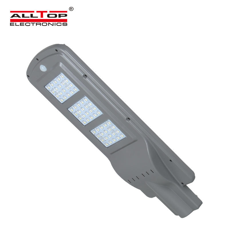 ALLTOP High efficiency smd 60w ip67 outdoor waterproof adjustable led solar street light price
