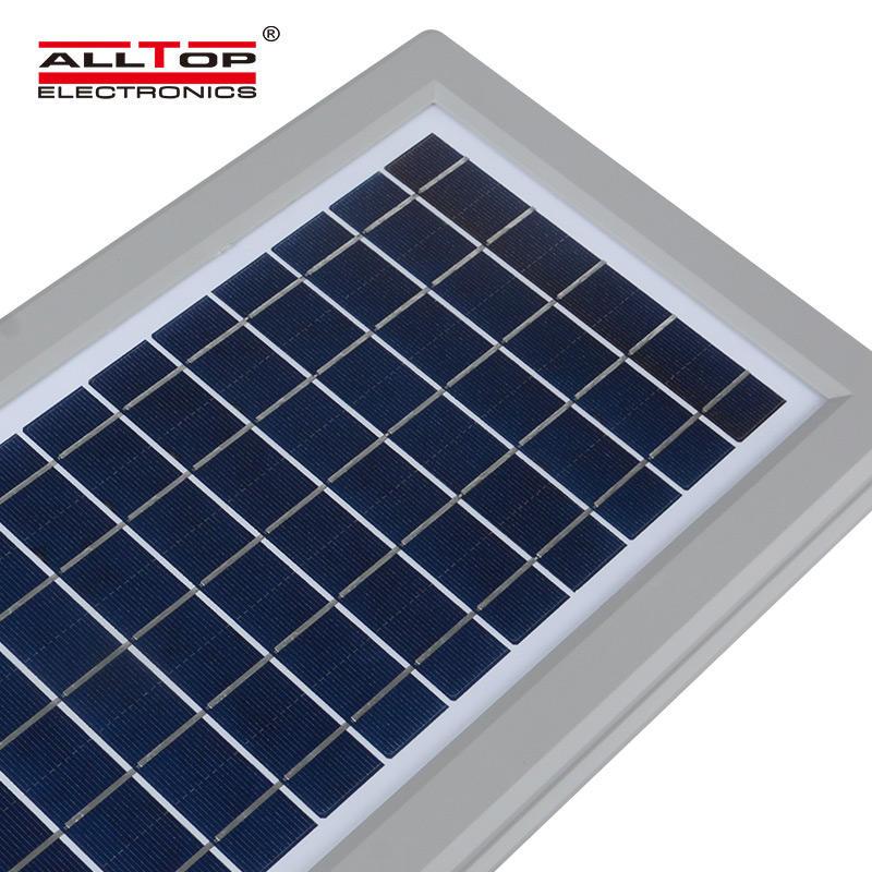 ALLTOP High efficiency outdoor waterproof pathway yard 30w 60w 90w all in one street led solar light