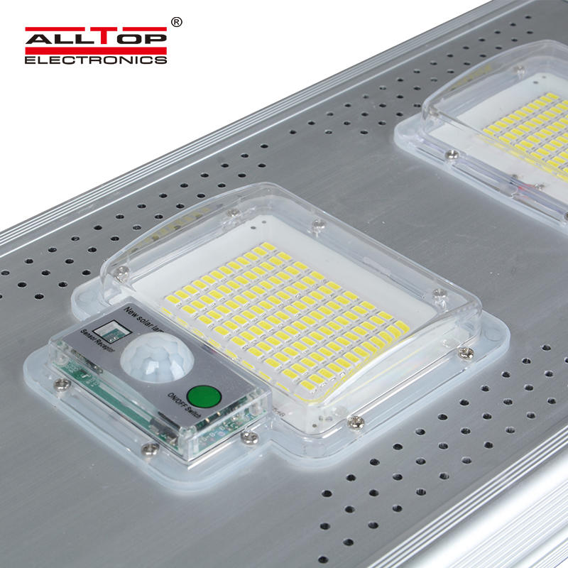 ALLTOP High efficiency light control IP65 outdoor 60watt 120watt 180watt all in one solar led street light