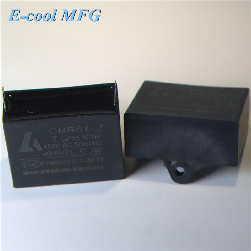 HVAC AC Capacitor Aluminum Approval CBB60 CBB61 CBB65 AC Motor Run Capacitor,ac capacitor