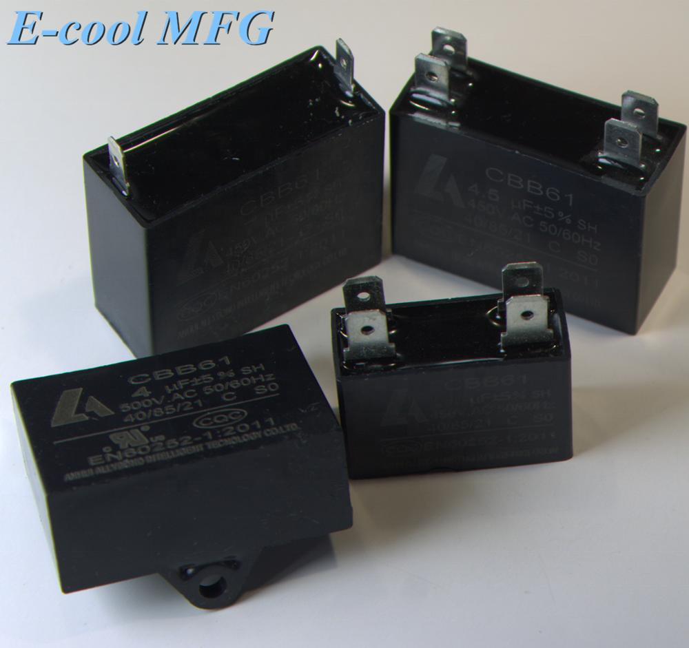 Customized supplier various type cbb61 capacitors