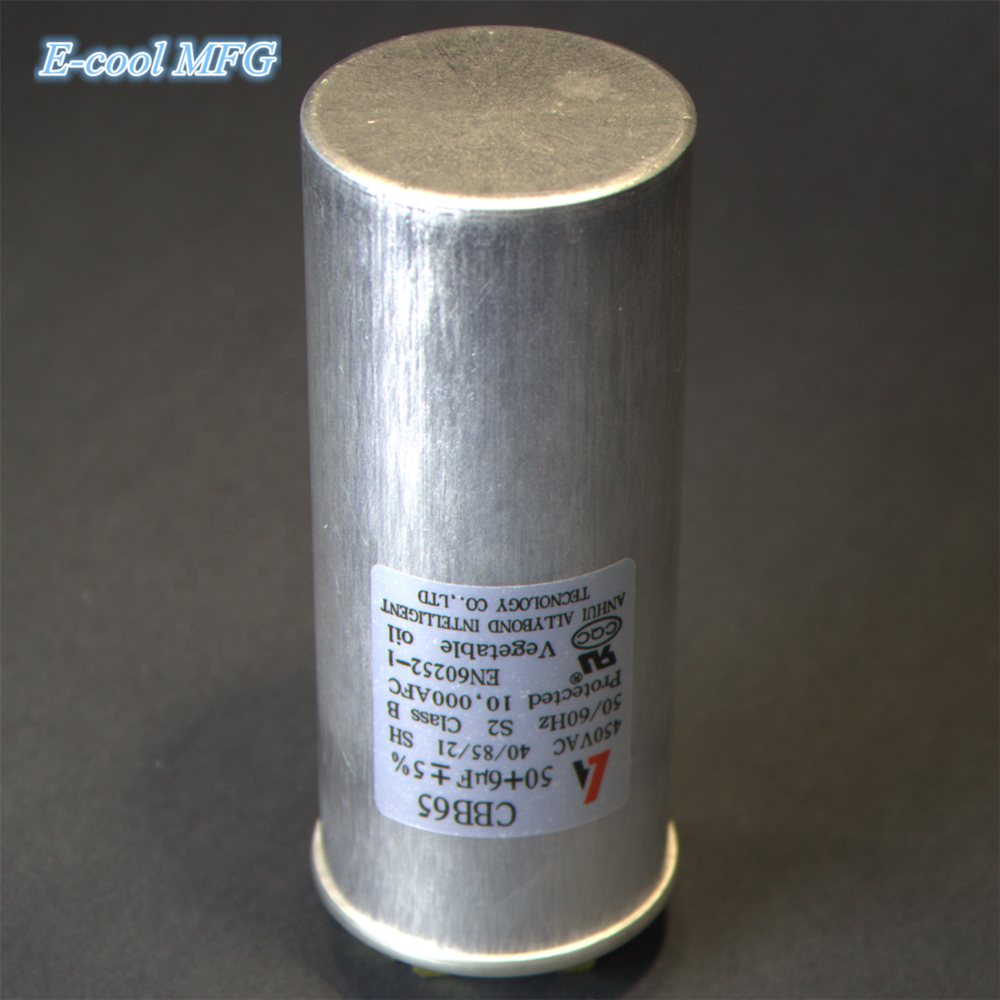 CBB65 50uf air conditioner capacitor explosion proof compressor start capacitor fridge air conditioning repair small appliance