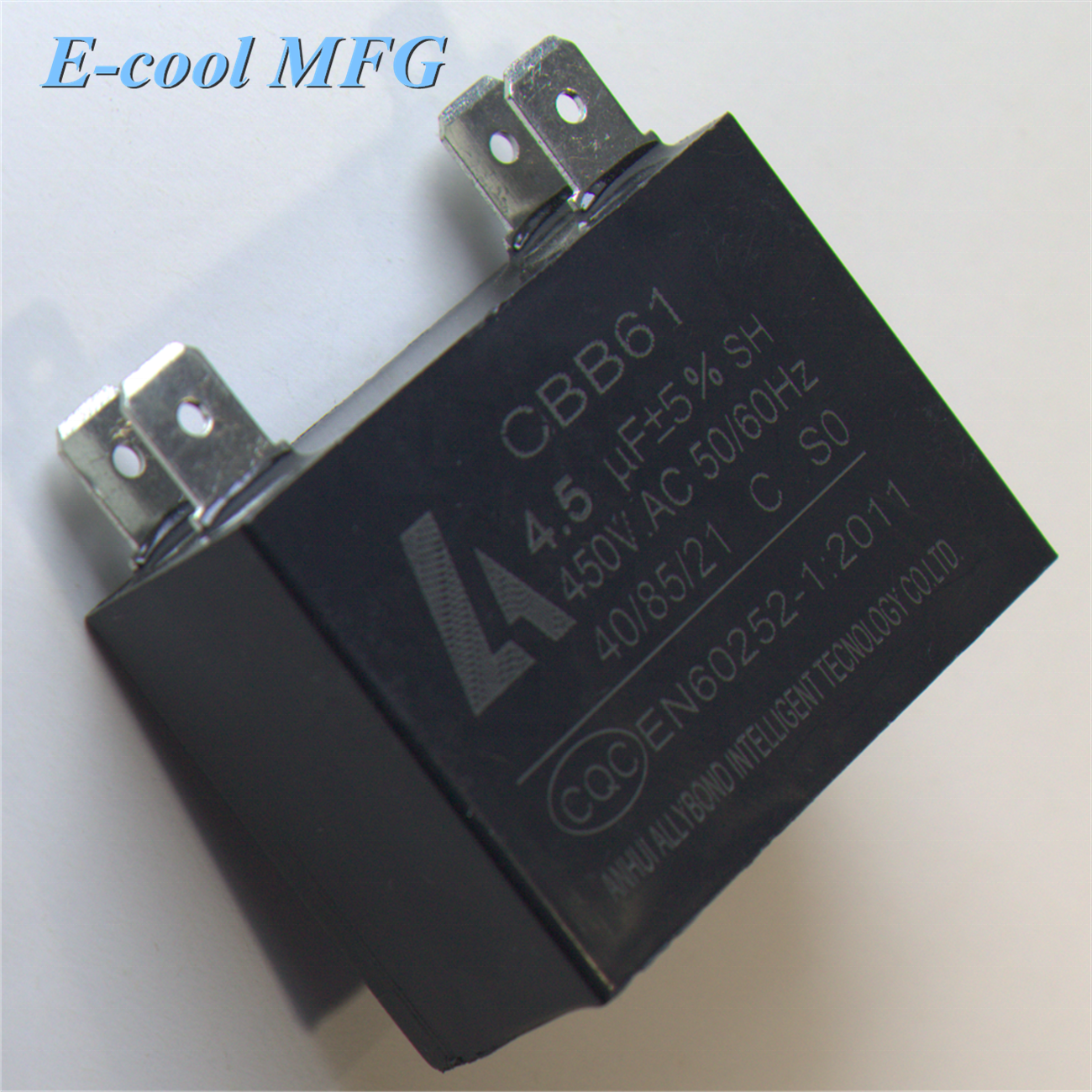 FACTORY PRICE WIRING TABLE FAN CAPACITOR CBB61 15UF 450VAC