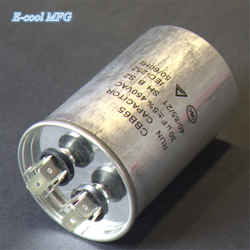 AC Motor Capacitor Air Conditioner Compressor Start Capacitor CBB65 450VAC 5uF