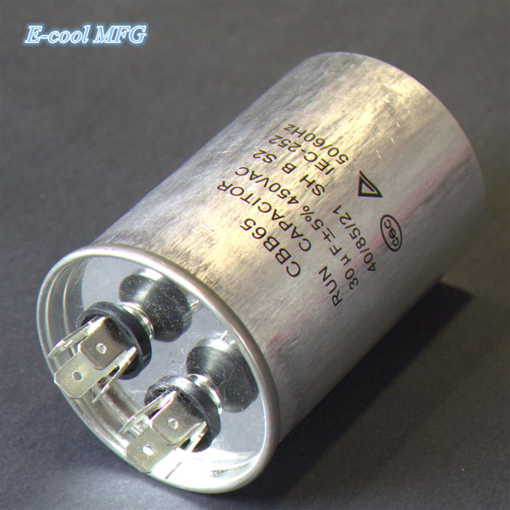 CBB65 450V air conditioner AC capacitor special capacity for air conditioning 35uf 40uf 50UF