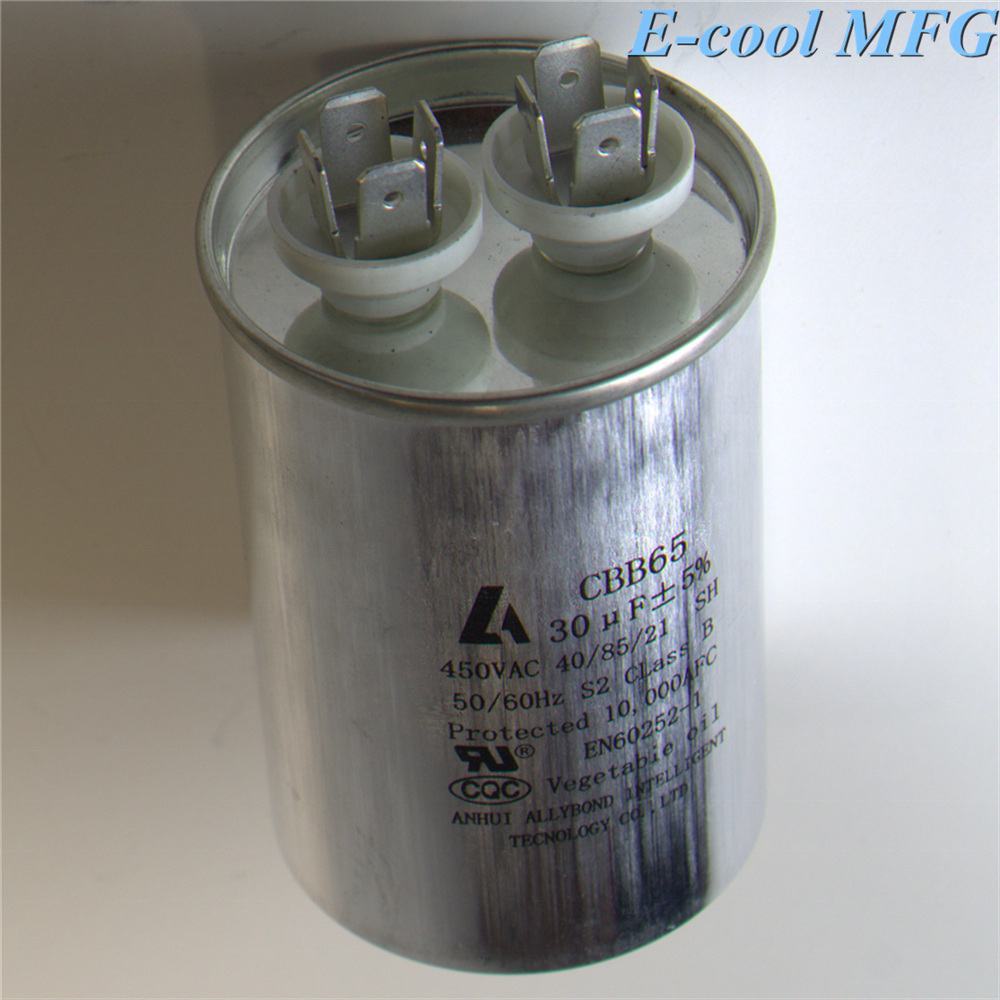 Hot sale top quality best price cbb65 capacitor 50+5 uf