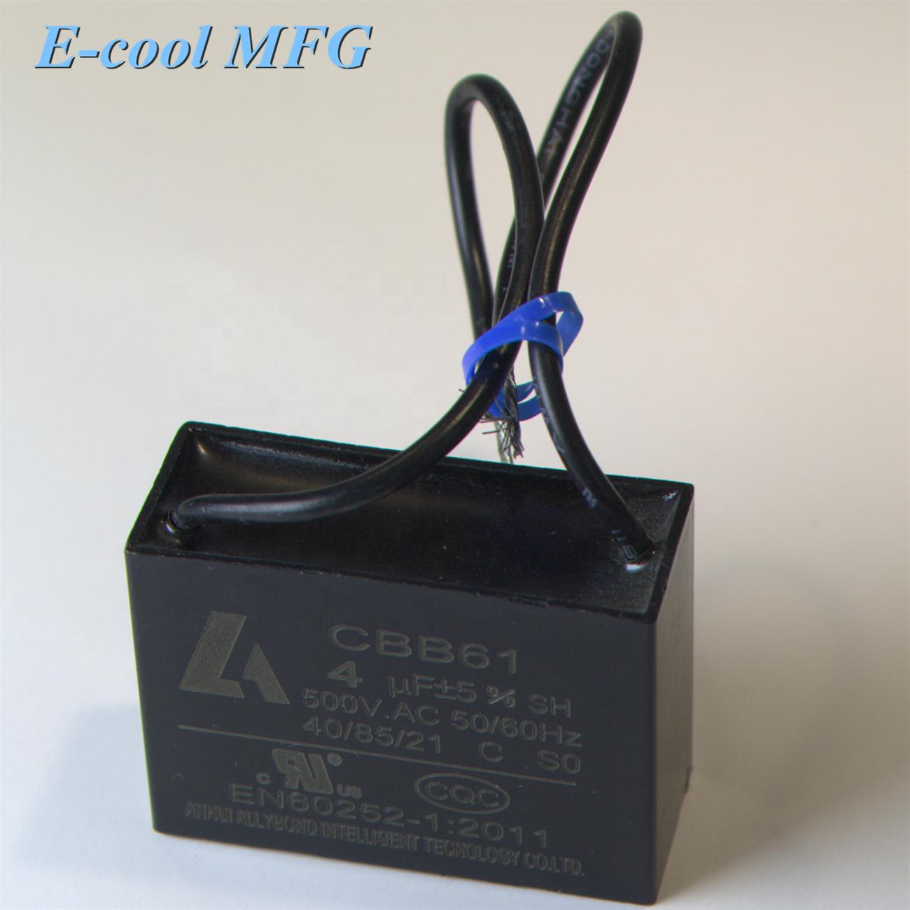 sh polypropylene fan capacitor cbb61