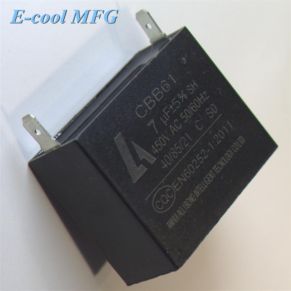 CBB61 Capacitor for Fans Motors 3.5 UF 450Vac
