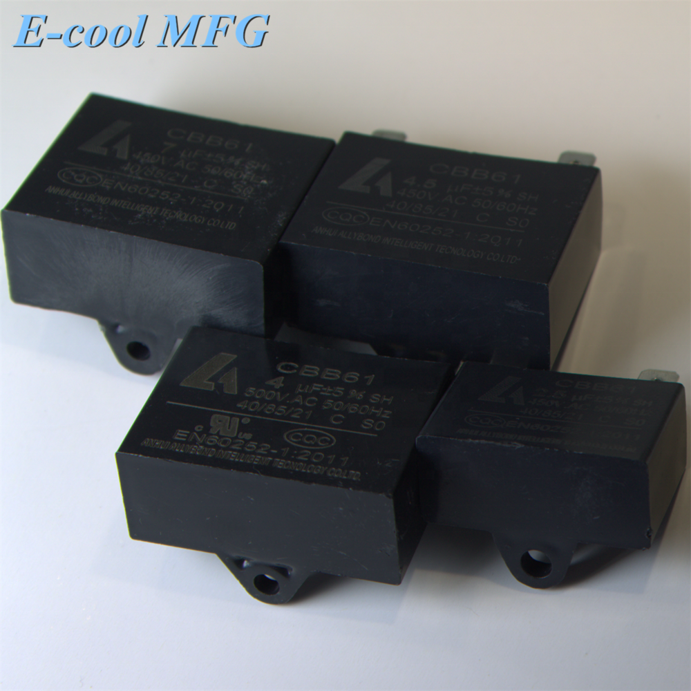 CBB61 450V for Air Condition Capacitors AC fan motor run capacitors