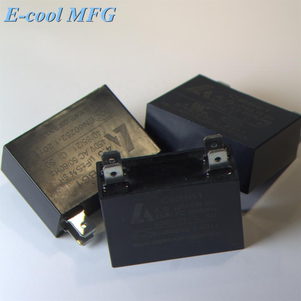 CBB61 450V 0.5-20uF for Fan Ventilation Motor driver ect