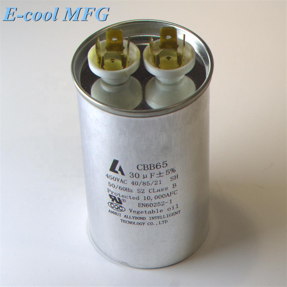 CBB65 Air Conditioner compressor Capacitor For Sale