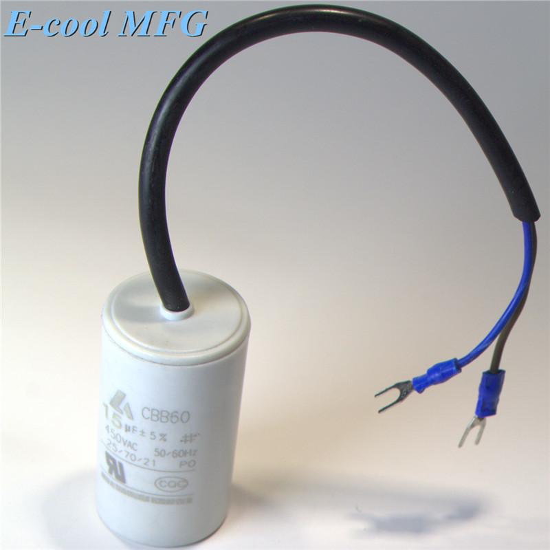 cbb60 motor run capacitor 16uf 450v