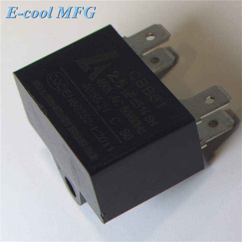 International cbb61 sh fan motor capacitor 3uf 450v