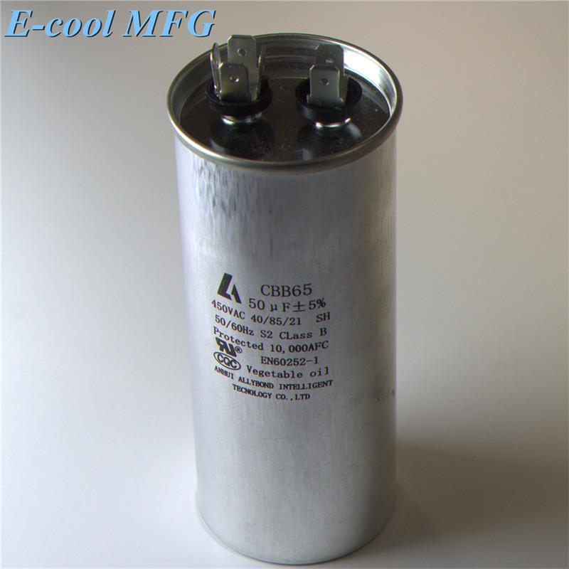 CBB65-R AC motor capacitor 45+5uF 450V