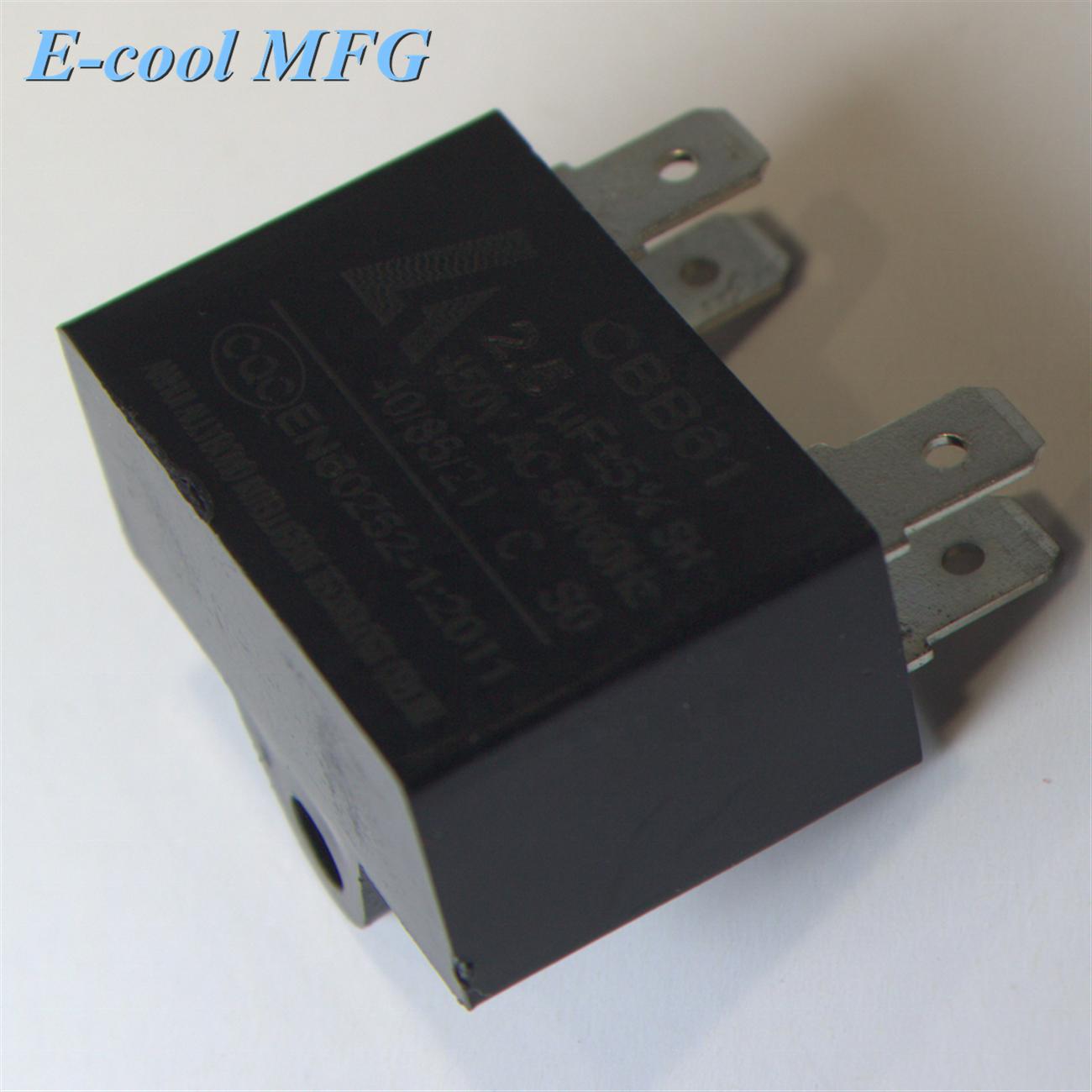 Fan use CBB612.5uf Start &Run capacitor cbb61 sh kondensator