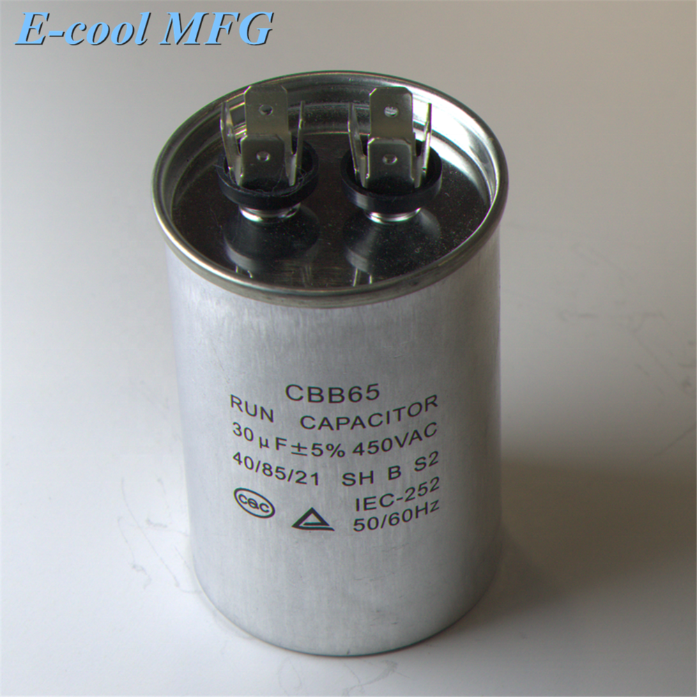 Air conditioner capacitor cbb65 for motor running capacitor