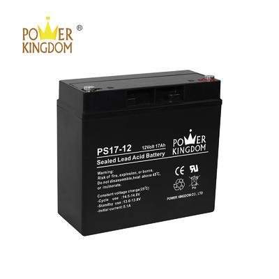 Lead acid battery Agm 12v 17ah long life solar battery manufacturer