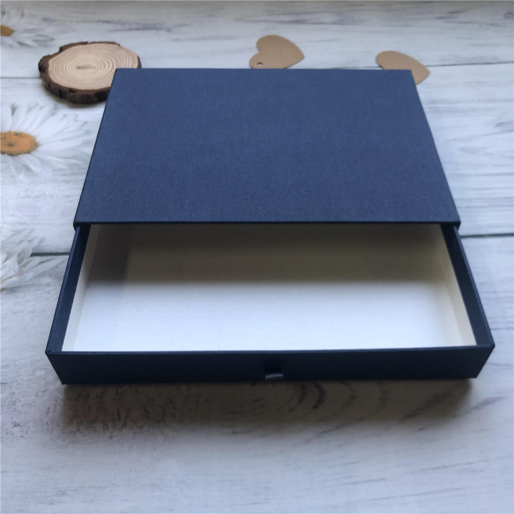 Drawer Box Paper Cardboard Lid Custom Clothing Boxes With Logo