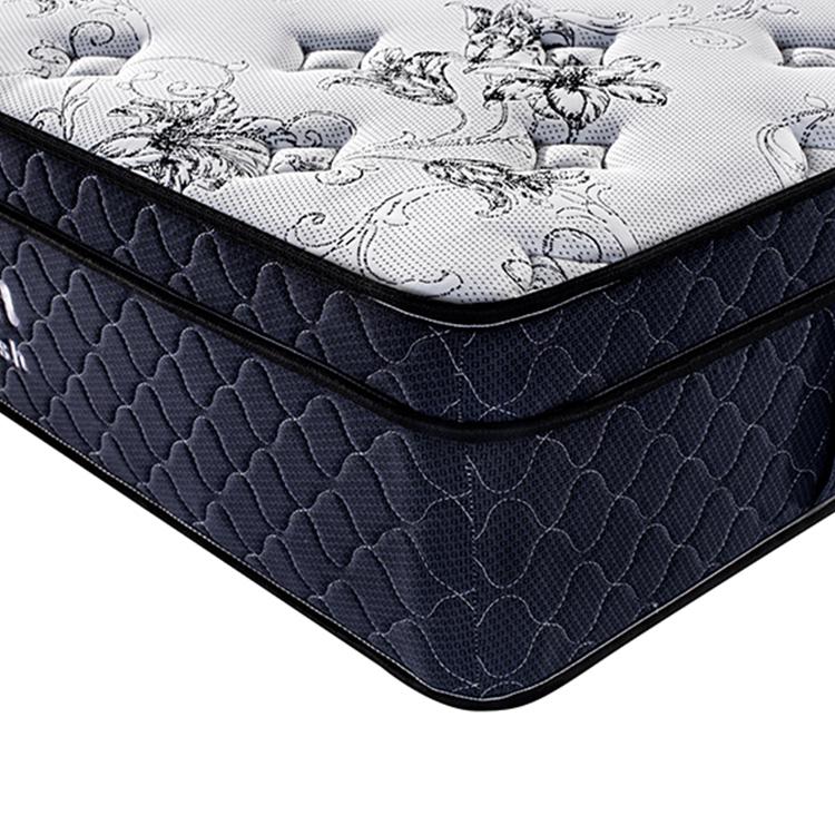 Queen Size Mattress Adult Bedroom Pocket Coil Spring Bed Mattress