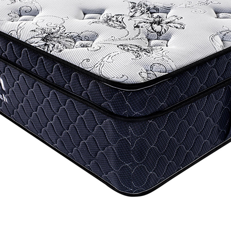 Queen Size Mattress Adult Bedroom Pocket Coil Spring Bed Mattress