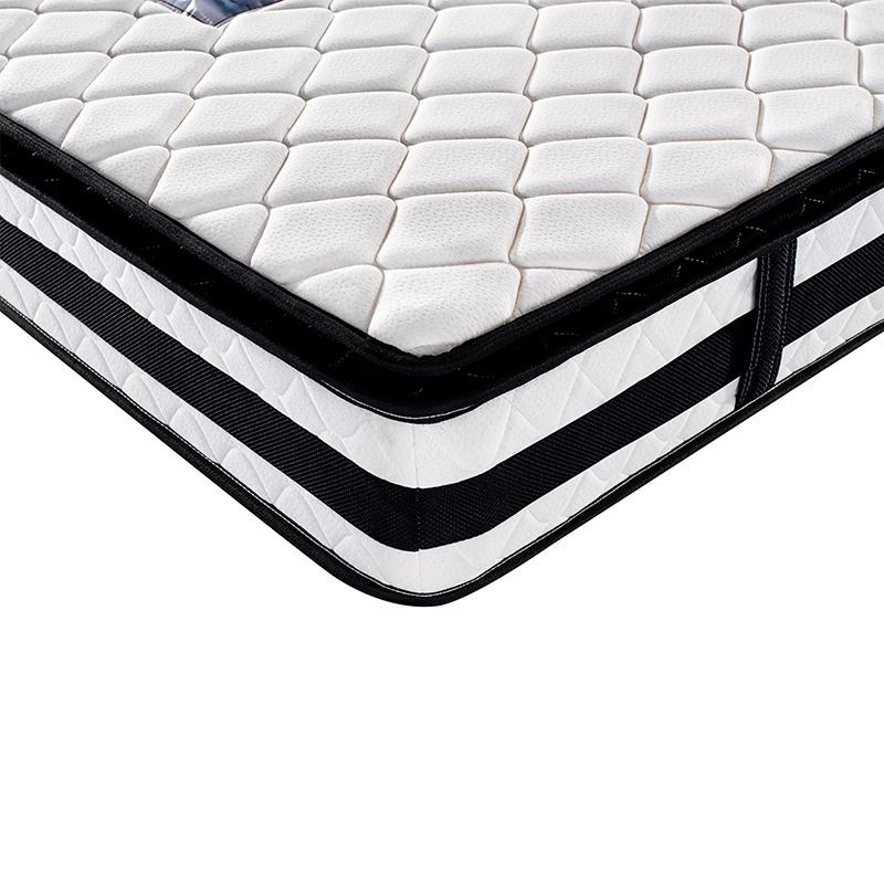 Hotel Mattress King Size 180x200 Pillow Top Coil Spring Mattress