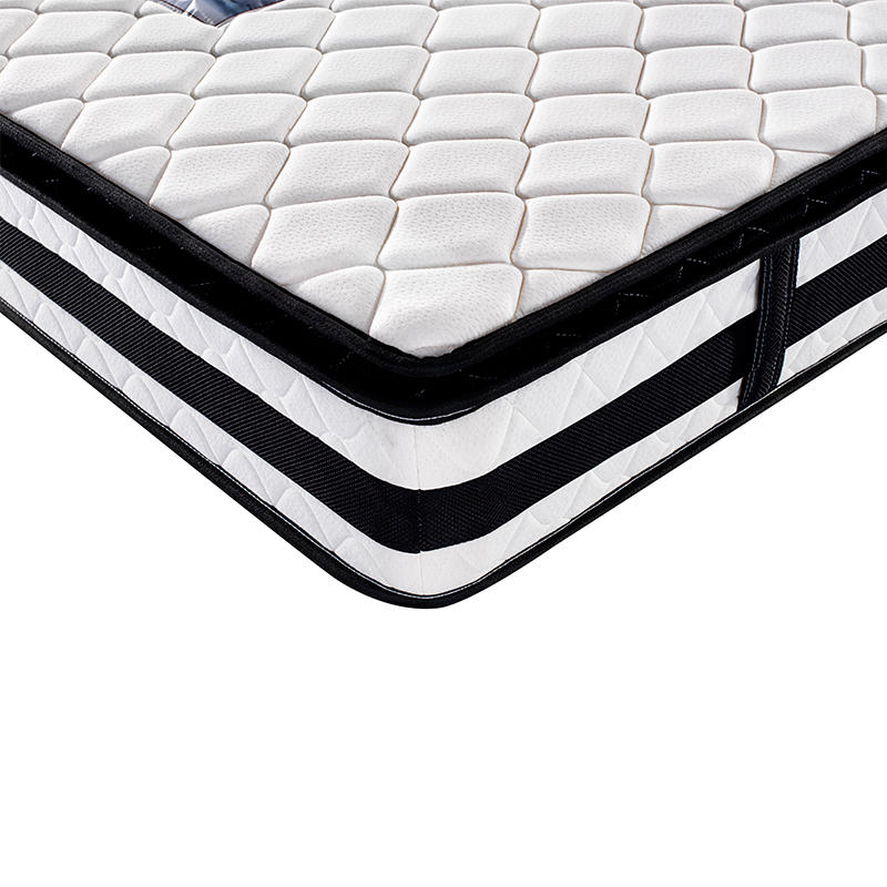 Hotel Mattress King Size 180x200 Pillow Top Coil Spring Mattress