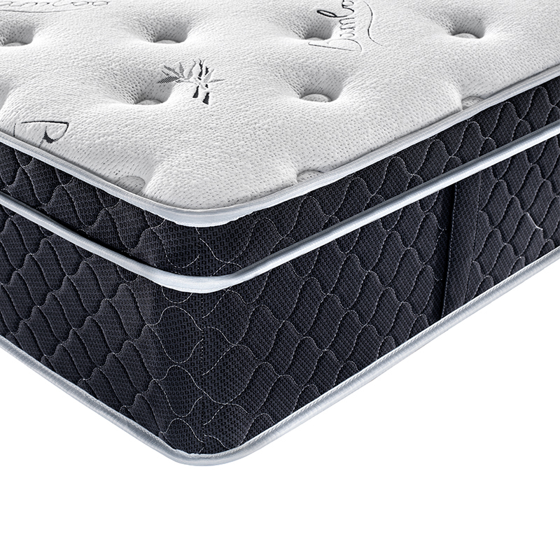 3 Zone Pocket Spring Queen Size Compressed Bamboo Fabric Spring Mattress