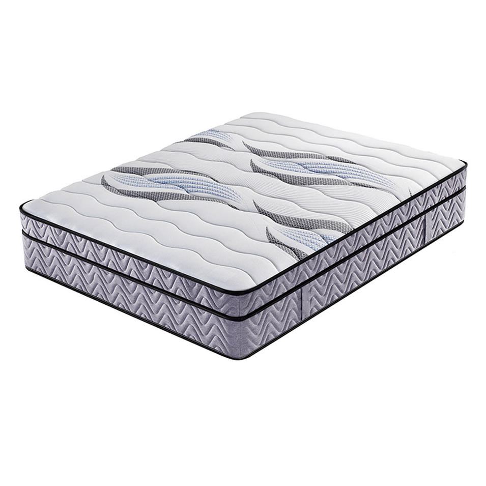 High quality knitted fabric mattress topper european style mattress