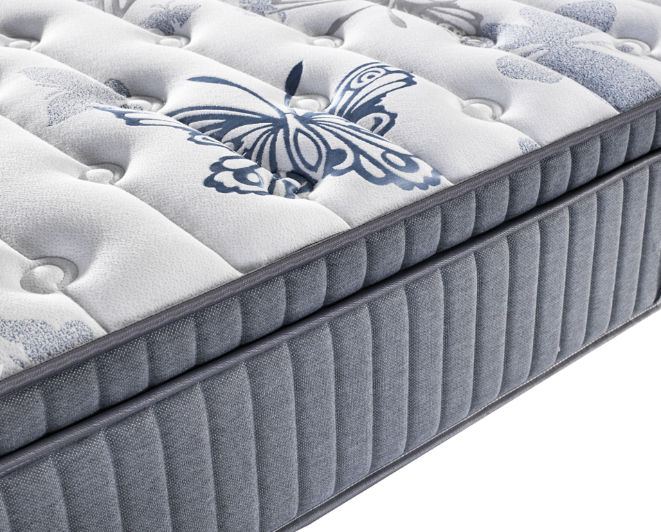 Mattress Manufacturer Pocket Coil Latex And Gel Memory Foan China Mattress